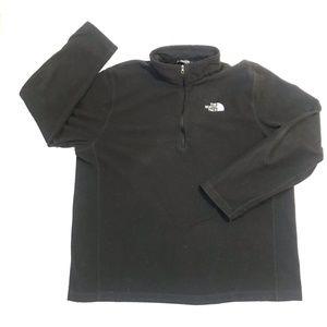 The North Face Half Zip Fleece Black Size XL